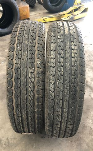 2 Used tires ST235/85R16 Power King Towmax STR for Sale in Clearwater, FL