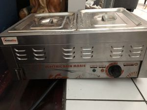 Kitchen way electric Bain marie food warmer for Sale in Miami, FL