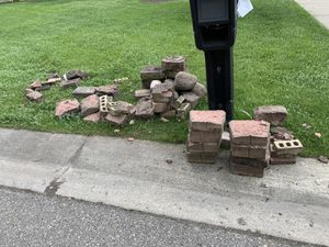 Landscape bricks and rocks for Sale in West Bloomfield Township, MI