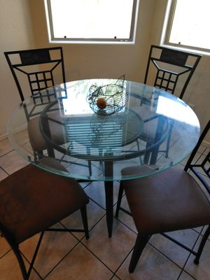 Glass Kitchen Table for Sale in Phoenix, AZ