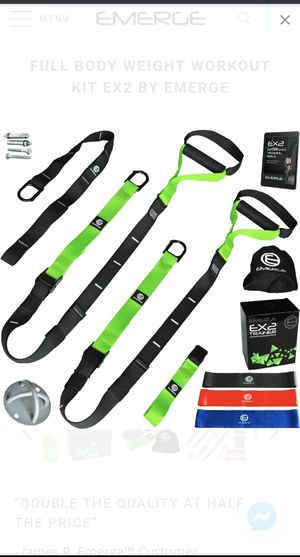 Emerge Fitness Body Weight Straps for Sale in Fontana, CA