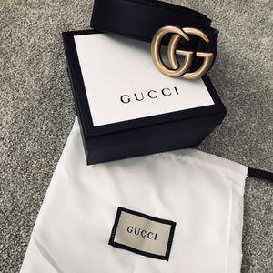 Gucci Double GG belt Price Is Firm for Sale in San Bernardino, CA