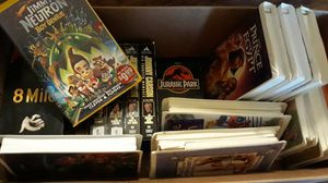 Box full of vhs tapes must take all for Sale in Loganville, GA
