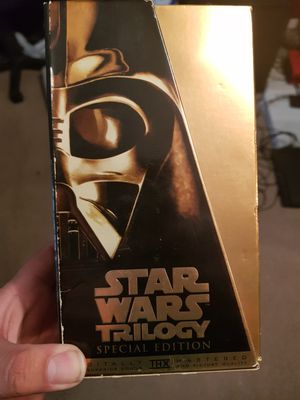 Star wars special edition VHS for Sale in Oklahoma City, OK