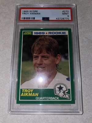Troy Aikman Rookie Card for Sale in Fresno, CA