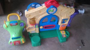 Kids play house and push toy for Sale in Gibsonville, NC