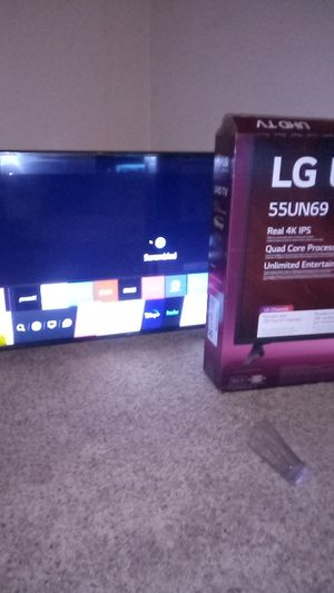 55 inch lg 4k smart tv for Sale in Cleveland, OH