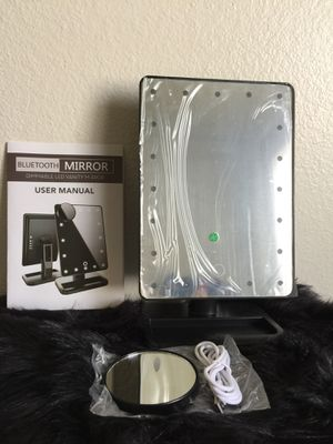 Brand new Led Makeup Mirror with 20 Vanity lights and Bluetooth for Sale in Las Vegas, NV