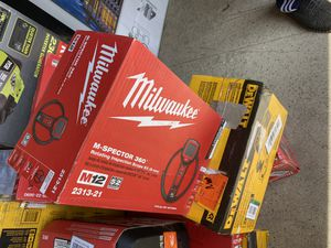 New Milwaukee inspector 360• degree camera $145 for Sale in Boston, MA