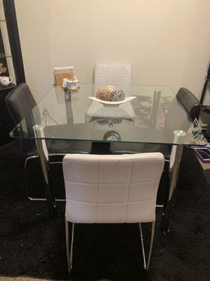 Dining table and four chairs for Sale in Portland, OR