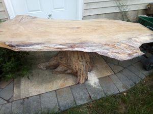 Live edge coffee table for Sale in OSBORNVILLE, NJ