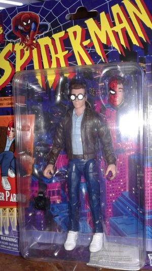 Marvel legends retro peter parker collectible action figure. for Sale in Berwyn, IL