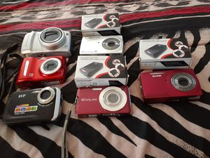9,10,12mp digital camera's 15 each 3 use batteries others have a new universal charger 15 each for Sale in Richmond, VA