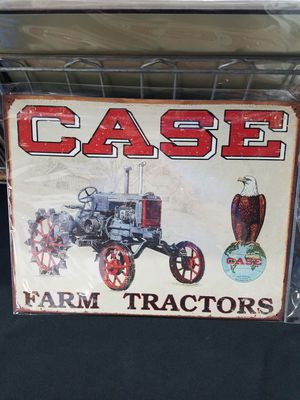 Case farm farming tractor metal sign for Sale in Vancouver, WA