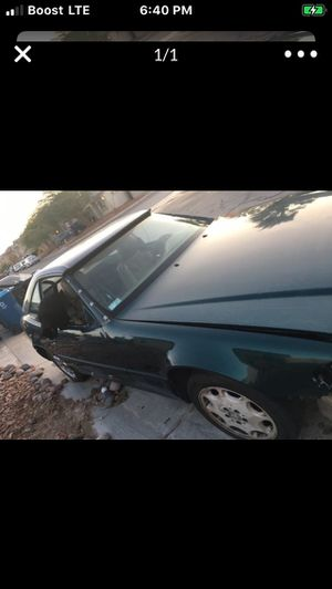 SL500 Mercedes parts car! 1st $100. And comes with CLEAR. Title! TODAY ONLY! for Sale in Las Vegas, NV