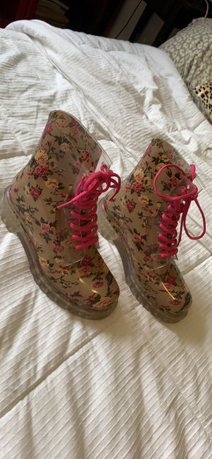 Floral boots for Sale in Dania Beach, FL