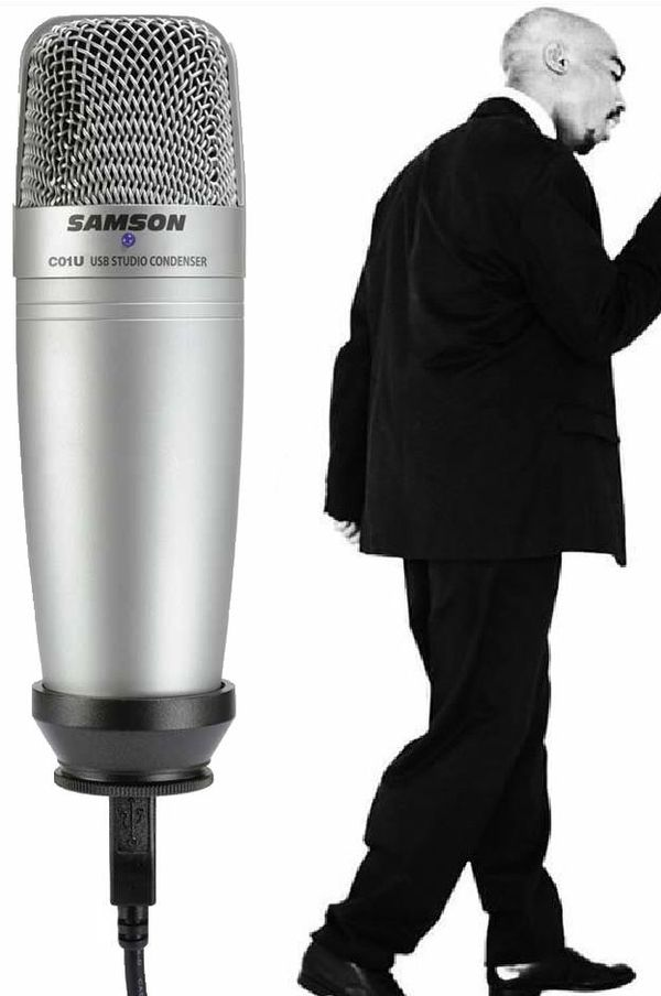 Samson Professional USB Large Diaphragm Condensor Microphone