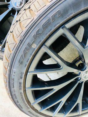 """20"""" Versante Wheels VE240 Matte Black Rims for Sale in Pasadena, CA"""