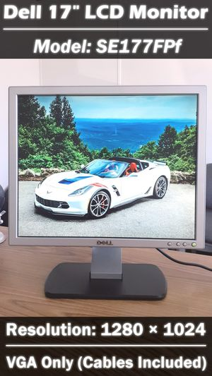 "17"" Dell LCD Monitor 