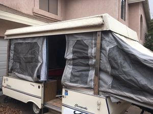 Tent pop up Trailer/ Colman 89 for Sale in Glendale, AZ