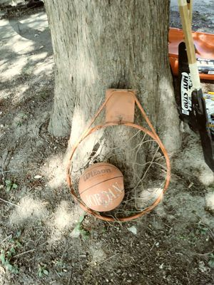 Basket ball hoop with Wilson ball for Sale in St. Louis, MO