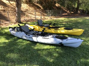 Ocean kayak Big Game 2 kayaks for Sale in Poway, CA