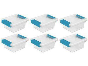 Sterilite small clip storage box set brand new for Sale in Los Angeles, CA