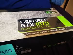 SEALED NEW !! NVIDIA GeForce GTX 1070 FE Graphics Card GPU Gaming Mining ETH NIB for Sale in Berkeley, CA