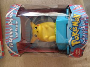POKEMON LIMITED EDITION BANK. VINTAGE for Sale in Las Vegas, NV