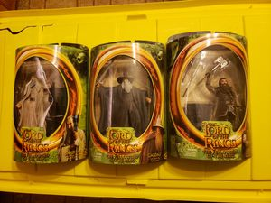 6 Lord of the Rings action figures for Sale in Festus, MO