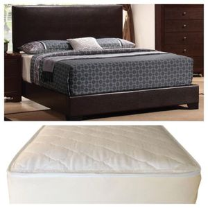Queen New bed and mattress set (Delivery Available) for Sale in Prattville, AL