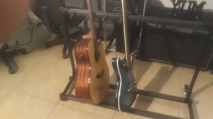 7 guitar stand folds up for storage for Sale in Pompano Beach, FL