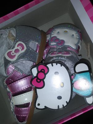 Glittery Hello Kitty sandals size 6m for Sale in Methuen, MA