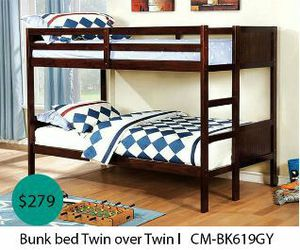Bunk bed twin over twin for Sale in Norwalk, CA