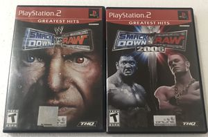 WWE Playstation 2 Game Bundle for Sale in Reading, PA