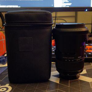 Sigma 18-35 1.8 for Nikon F-mount for Sale in Dallas, TX