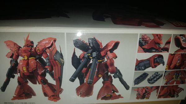 """Gundam """" NEO ZEON MSN - 04 Mobile Suit SAZABI """"Ver. Ka"""" FLAWLESS!!"""