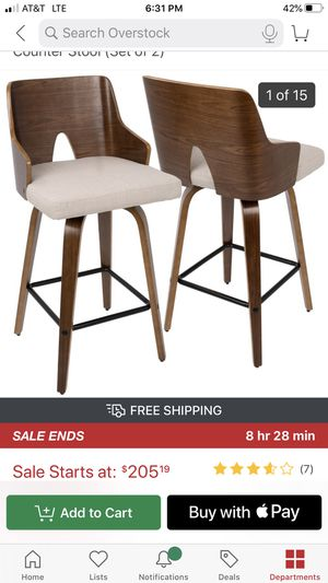 Set of bar stools for Sale in New York, NY