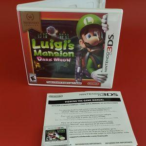 Nintendo 3ds Luigi's Dark Moon for Sale in Happy Valley, OR