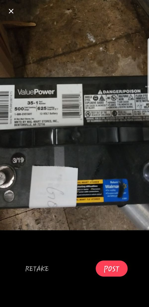 Group 35 battery