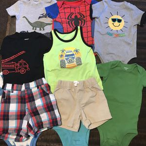 All Baby Boys Clothes In Very Good Condition Take For $20 for Sale in Selma, CA