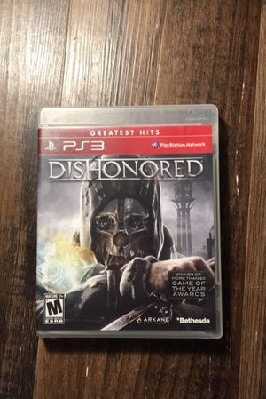 Dishonored for PS3 for Sale in Lynchburg, VA