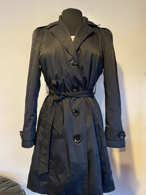 Michael Kors black rain coat, size PS for Sale in Mukilteo, WA