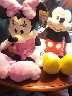 Mickey And Minnie Brand New With Tags for Sale in Fall River,  MA
