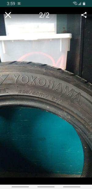 Yokohama 225 55 R17 for Sale in Watertown, CT