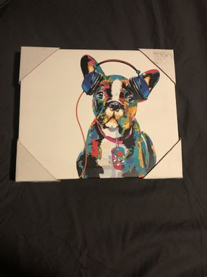 A Frenchbull dog painting/ canvas for Sale in Nashville, TN