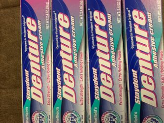 New Denture Cream $15 For All for Sale in Los Angeles,  CA