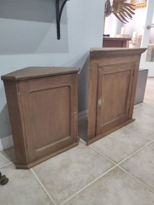 Primitive antique cabinets for Sale in North Port, FL