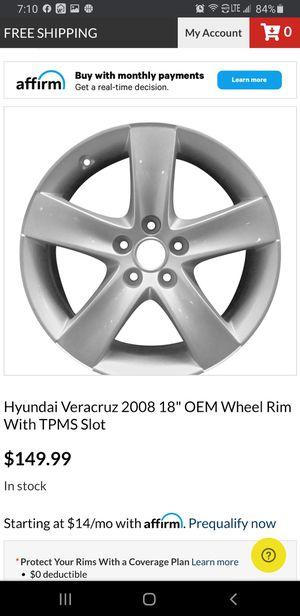 Hyundai wheels vera Cruz 2008 for Sale in San Antonio, TX