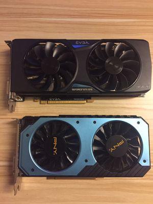 GPU-EVGA GeForce GTX 970 and PNY GeForce GTX 950 for Sale in Fairfax, VA